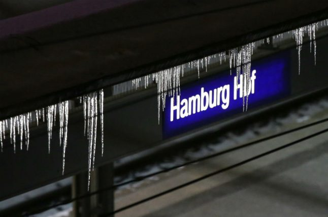 Ice cold and lots of snow: slippery roads and rail disruptions in Hamburg