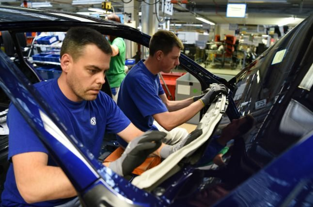 Volkswagen workers in Germany secure 4.3 percent pay bump
