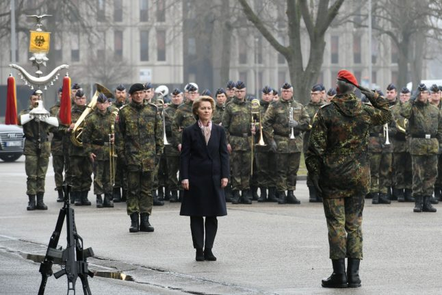 Germany starts army makeover by stripping barracks of name