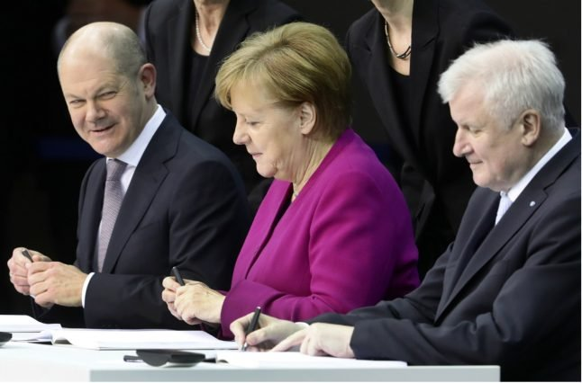 These are the top priorities of Merkel's fourth government