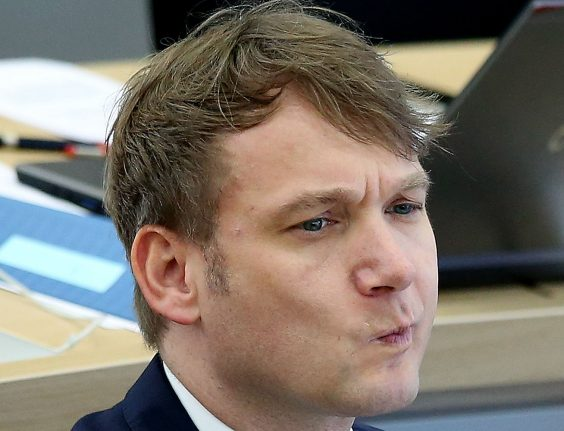 AfD politician steps down after his party criticizes him for racist comments