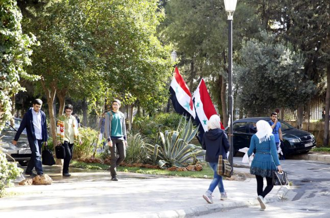 AfD lawmakers travel to 'normal' Damascus in attempt to encourage refugee returns