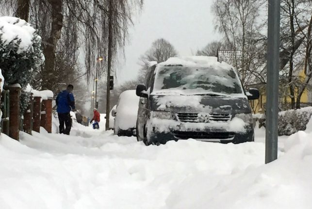More snow on the way for Germany as eastern beast refuses to budge