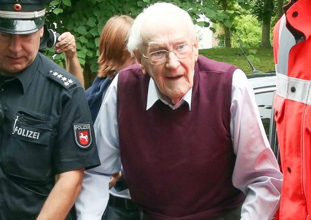 Former 'Bookkeeper of Auschwitz' dies at 96 before serving sentence