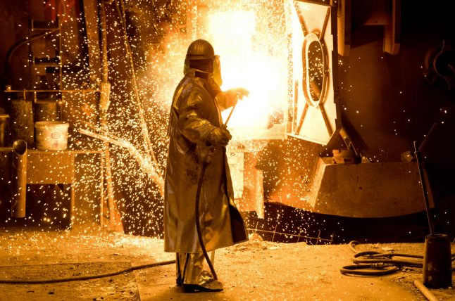 Germany expects US to impose steel and aluminium tariffs from May 1st