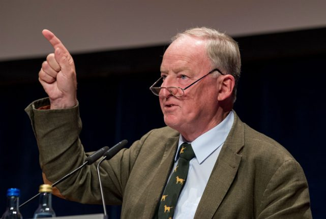 How the leader of the AfD once had a very different attitude to refugees