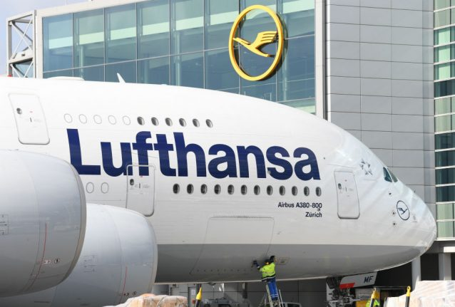 Lufthansa cancels 800 flights Tuesday in airport strikes across Germany