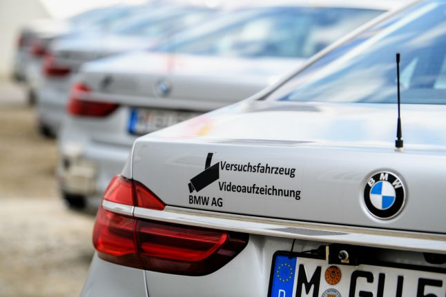 BMW opens campus for self-driving cars near Munich
