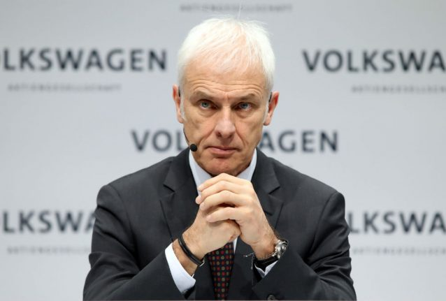 Volkswagen sacks CEO Müller after less than 3 years in job: report