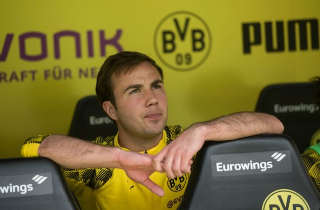 Götze running out of time to secure World Cup place