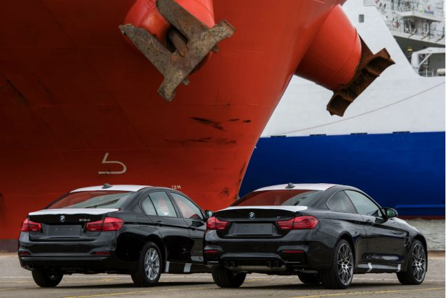 German car firms 'would be worst hit' by trade war between China and US