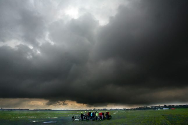 Storms set to hit Germany before weekend sunshine