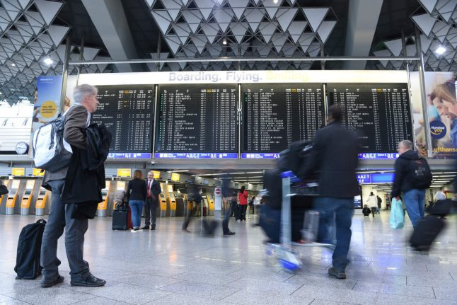 Passengers warned to expect serious delays at four German airports due to strikes