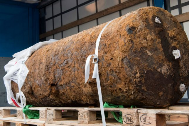 What you need to know about WWII bomb disposals in Germany