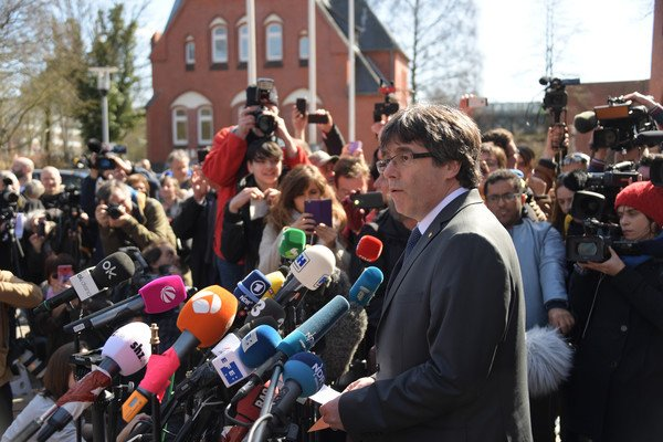 Spain mulls appealing Germany's Puigdemont extradition ruling to EU court