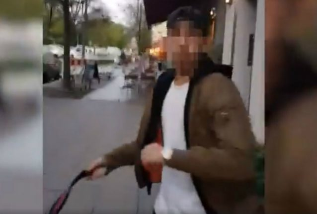 Video of alleged anti-Semitic attack in central Berlin sparks outrage