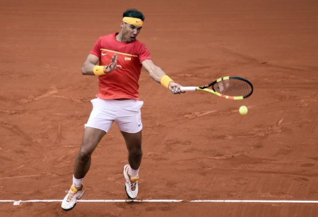 Rafa to the rescue? Nadal to face Germany's Zverev with Spain fate in his hands