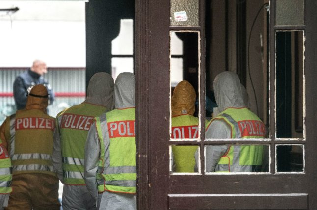 Rats and rubbish: police clear out house of horrors in Berlin