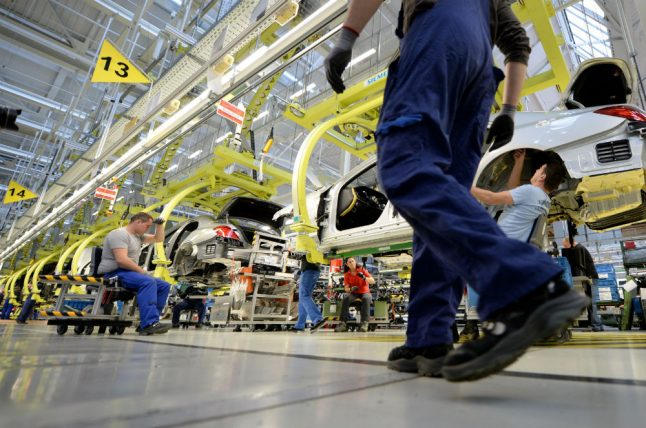 Far-right unionize on German car factory floors in fight against globalization