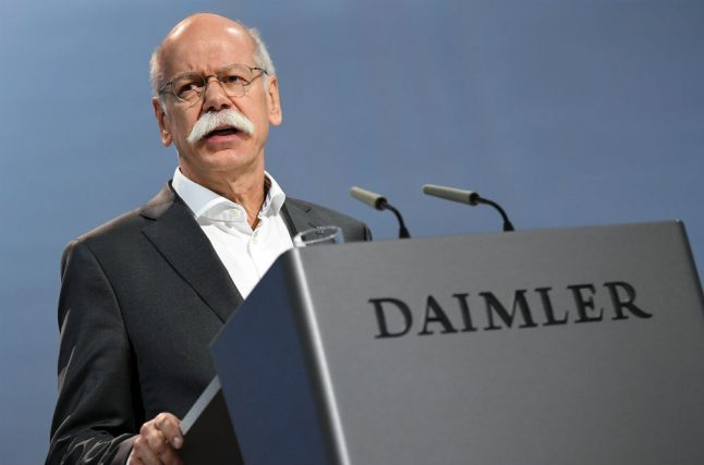 Berlin demands answers from Daimler over diesel 'pollution cheating' devices