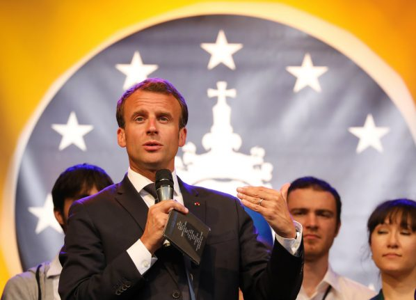 Macron urges Germany to step up at 'historic moment' for EU