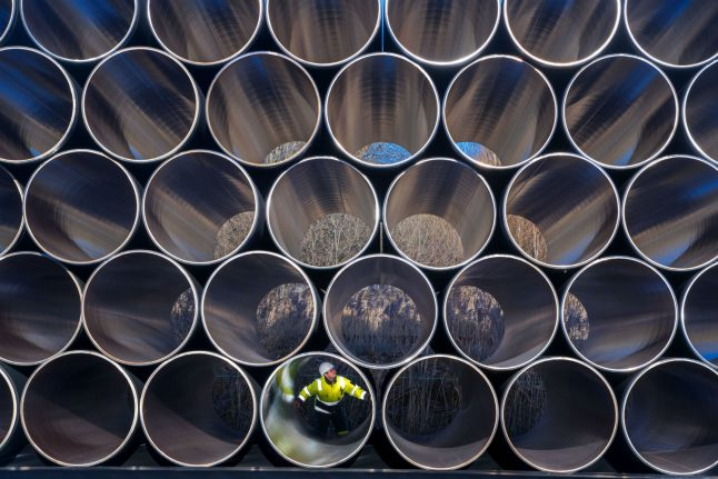 Construction begins on gas pipeline connecting Germany to Russia