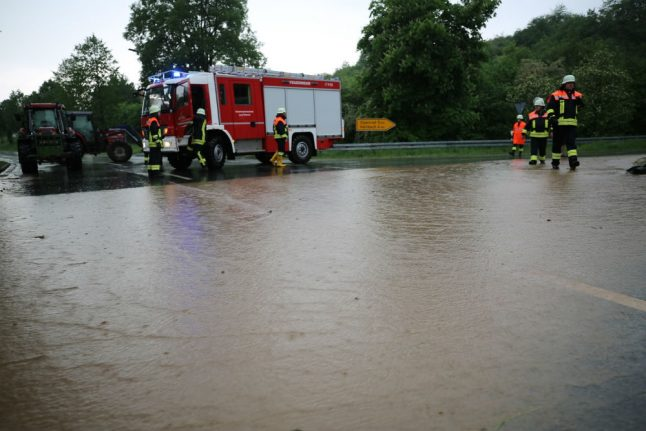 Extreme weather advisory as thunderstorms to hit southern Germany