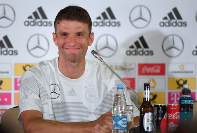 World Cup pressure 'terrifically high', says Germany's Müller