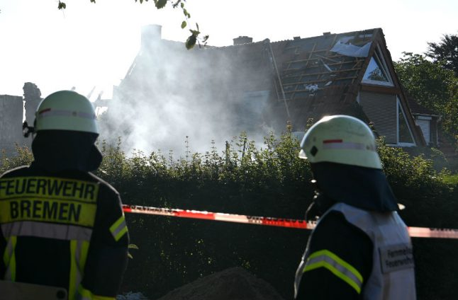Three fatalities after explosion rocks Bremen house to its foundation