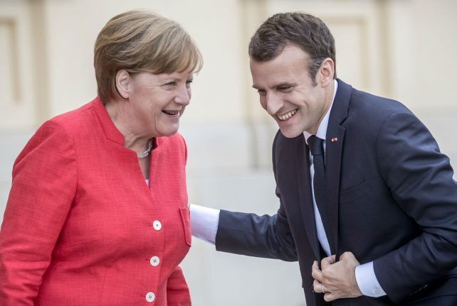 France and Germany agree to set up eurozone budget