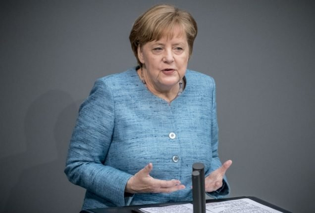 Merkel to take questions from MPs in Bundestag... for first time ever