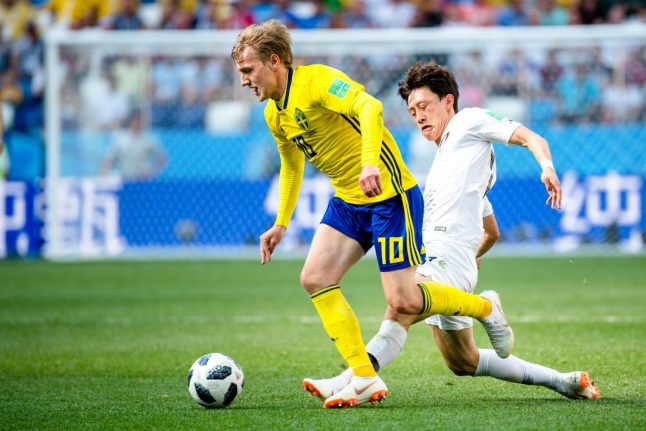 The Swedish danger man Germany's players know only too well