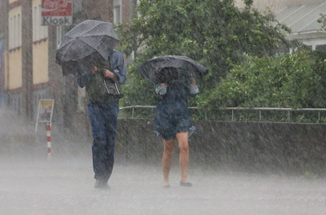 More thunderstorms predicted to soak southern and western regions