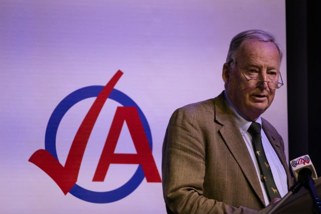 AfD leader sparks outrage with Hitler 'speck of shit' comment