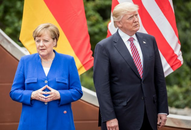 Merkel predicts 'contentious' G7 summit with Trump