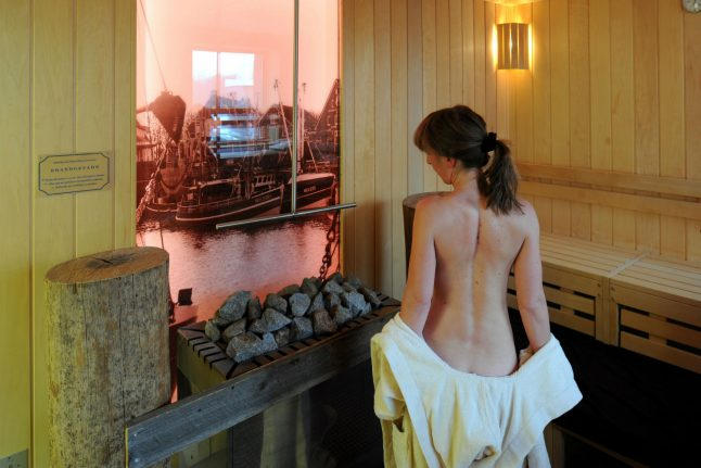 Undressing at a Berlin sauna wasn't the moment of liberation I'd hoped for