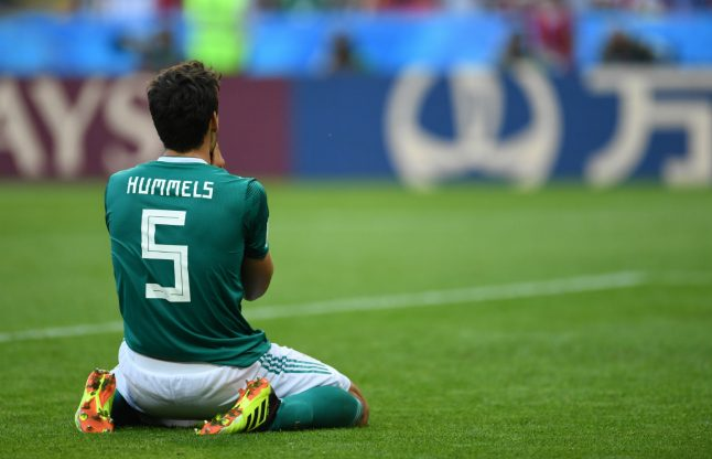 Germany knocked out of World Cup after defeat to South Korea