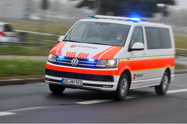 Woman dies after being stabbed in centre of small east German town