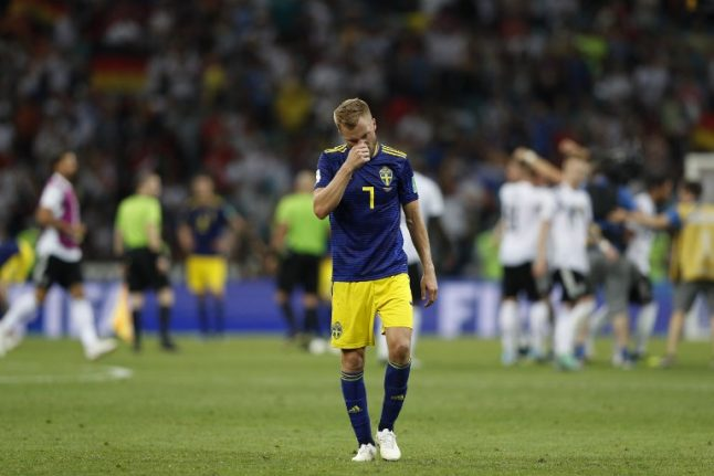 Sweden hit out at Germans for 'rubbing it in' with World Cup celebrations