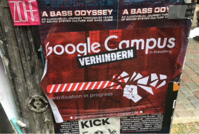 Google is coming to Berlin Kreuzberg and locals are far from happy. Here's why