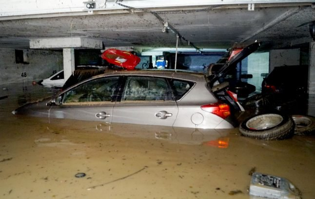 Fist-sized hail and flooding: storms batter southern Germany