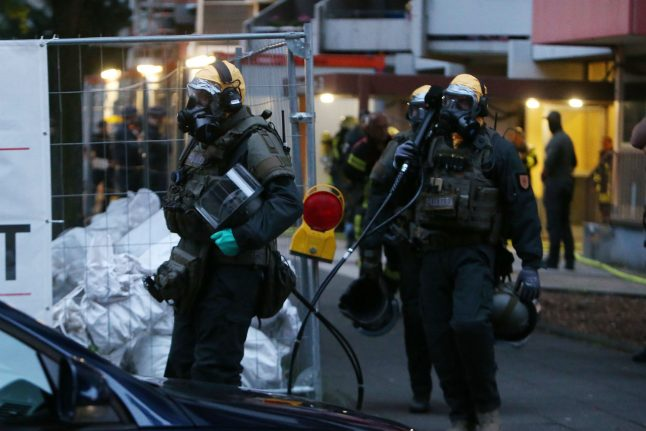 Cologne police arrest Tunisian man on suspicion of possessing toxic substance