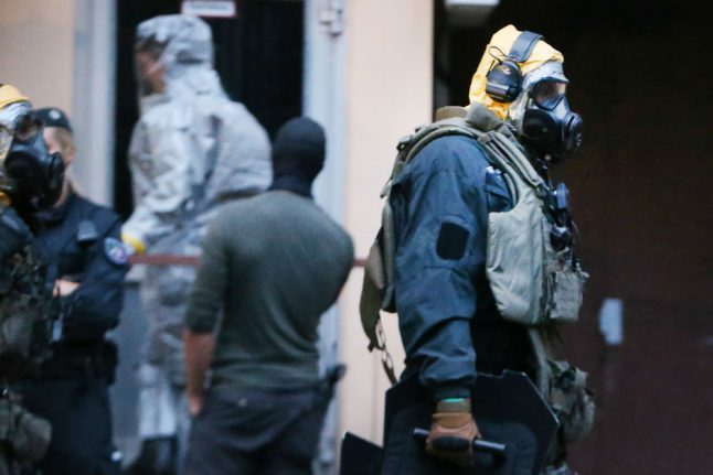 Police 'foiled biological attack' with arrest of Tunisian in Cologne