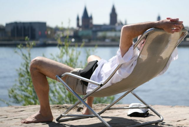 The week's weather: sun across Germany but storms expected in south
