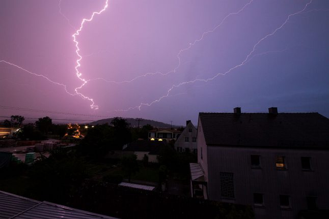 Heavy storms to hit southern Germany this week