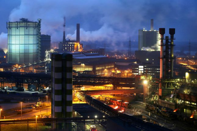German industrial giant ThyssenKrupp faces 'aggressive restructuring' after bosses quit