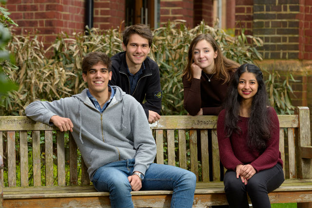 The undergraduate programme preparing students for an international business career