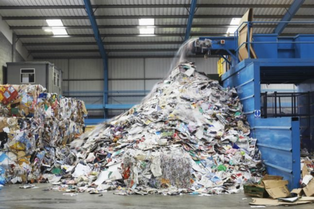 Germany accumulates more packaging waste per capita than any country in the EU