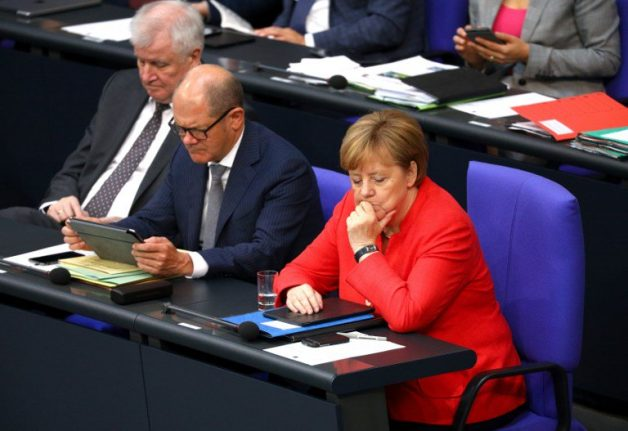 German coalition parties agree tougher policy on migration