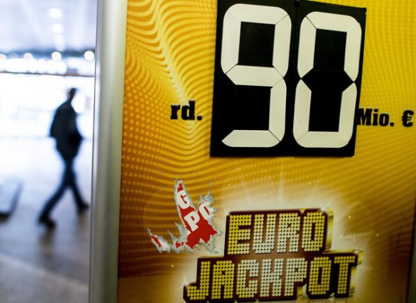 Two Germans turn instant millionaires after splitting €90M Euro lotto prize